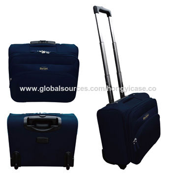 Nylon spinner carry-on luggage Featured Image