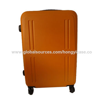 Orange polish pure PC luggage