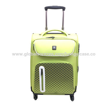 Set of 3-piece trolley case, made of nylon