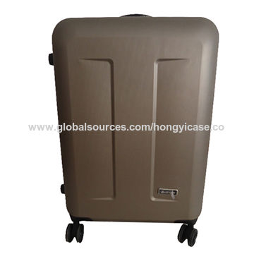 Single pole brush trolley ABS luggage