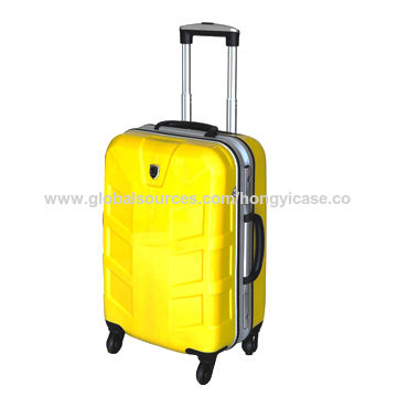 Strong aluminium frame suitcase