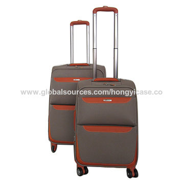 Top Sale Soft Polyester Luggage Set