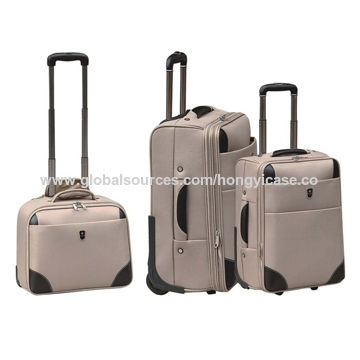 Top sale 2-wheel Luggage set with 3pcs