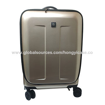 Wholesale ABS wheeled luggage bag