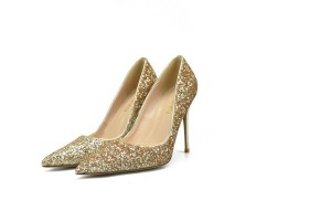 Factory For Chain Bag - Best selling golden sequins shoes women pretty shoes evening shoes designer shoes sexy pumps 32-46 big yard size shoes lady sexy high heels lady pointed shoes stiletto shoe...