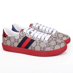 Discount wholesale Fashion Handbag - High-grade printed PVC fabric sneakers red outsole shoes Popular Brand design Casual shoes cowskin sneakers Lace Up Shoes sheepskin lining sports shoes lovers ...