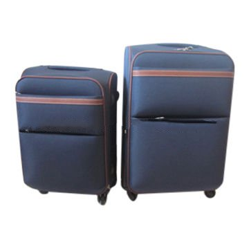 4-spinner wheels carry-on trolley luggage set