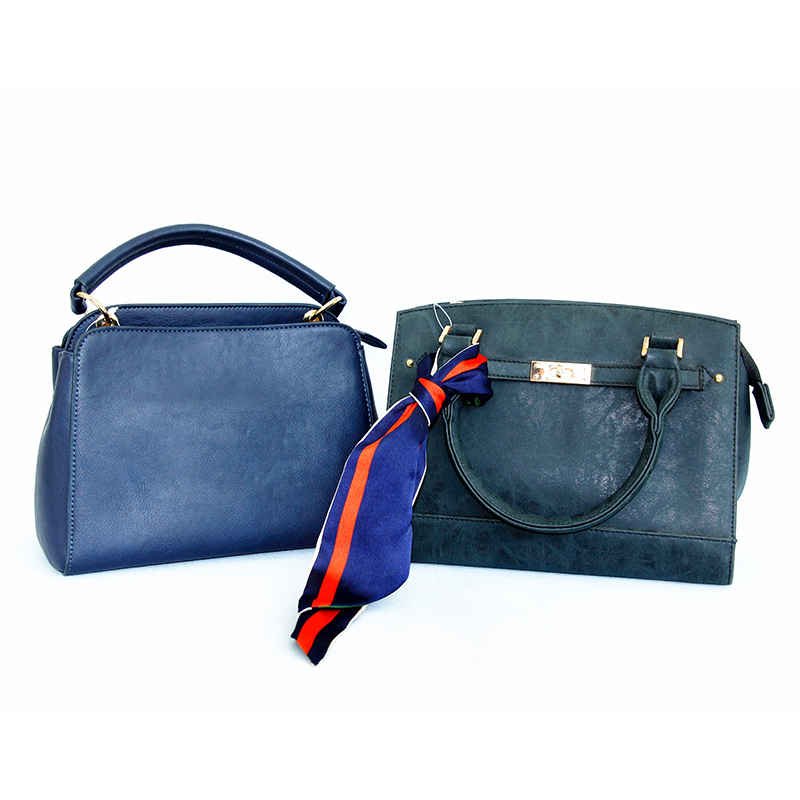 The Most Popular of Amazon Hot Sale Multi-function Fashion Ladies'Handbag, Single-shoulder and Crossbody Bag with Blue Ribbon