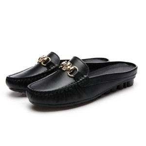 High End Quality Slip-On Loafers Calfskin Brand Name Shoes Designer Loafers Shoes Factory