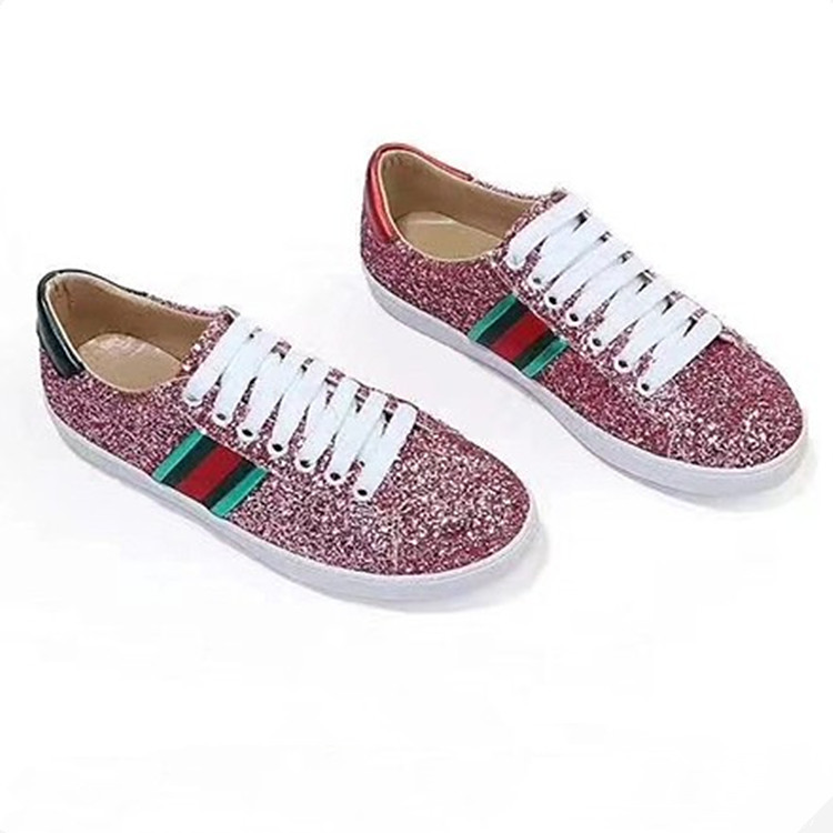Pink Sequins Sneakers For Both Women And Men Featured Image