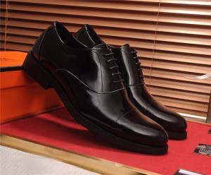 OEM Black Patent Leather Formal Shoes Men Working Shoes Manufacturer