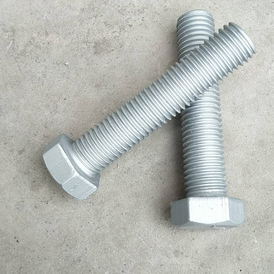 8.8 hot dip galvanized full thread hex bolt