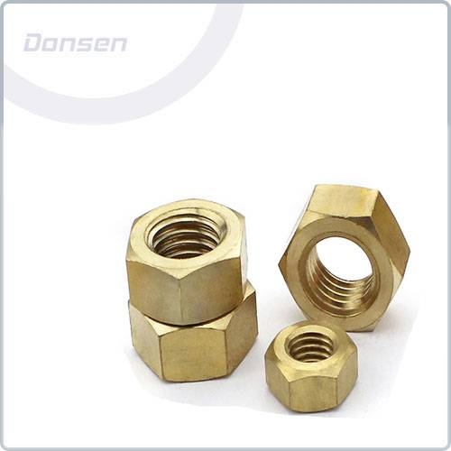 Hexagon Brass Nut( Din934)