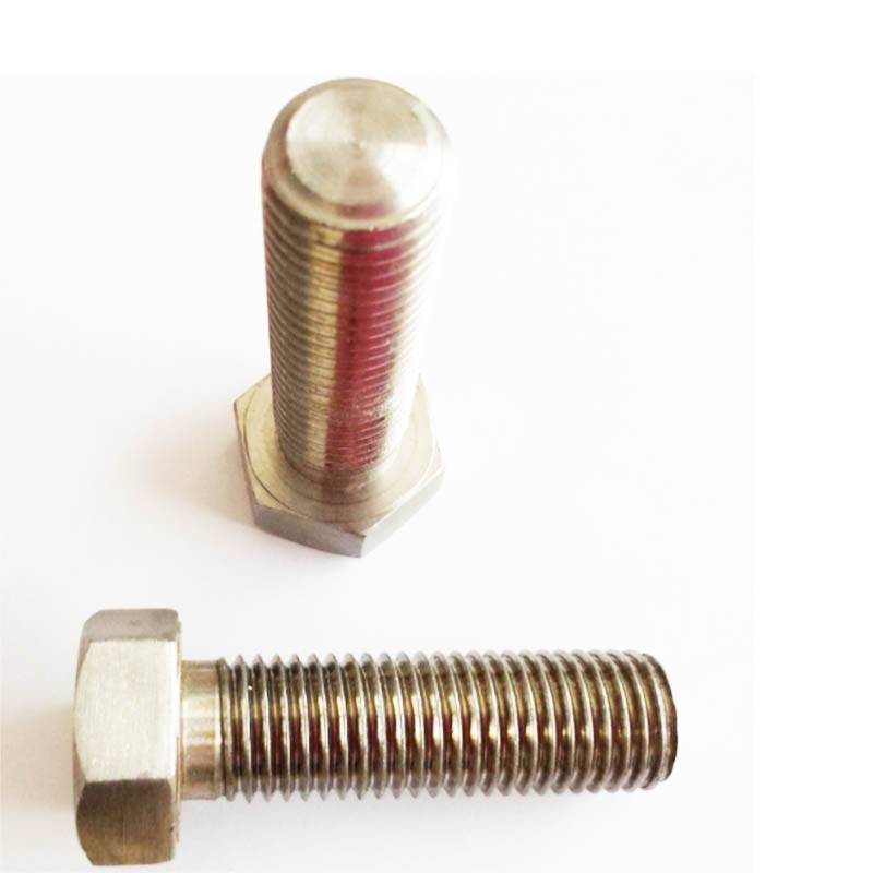 4.8 plain full thread bolt