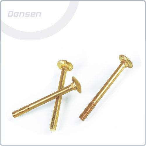 Brass Carriage Bolts(Cup Square Bolts)