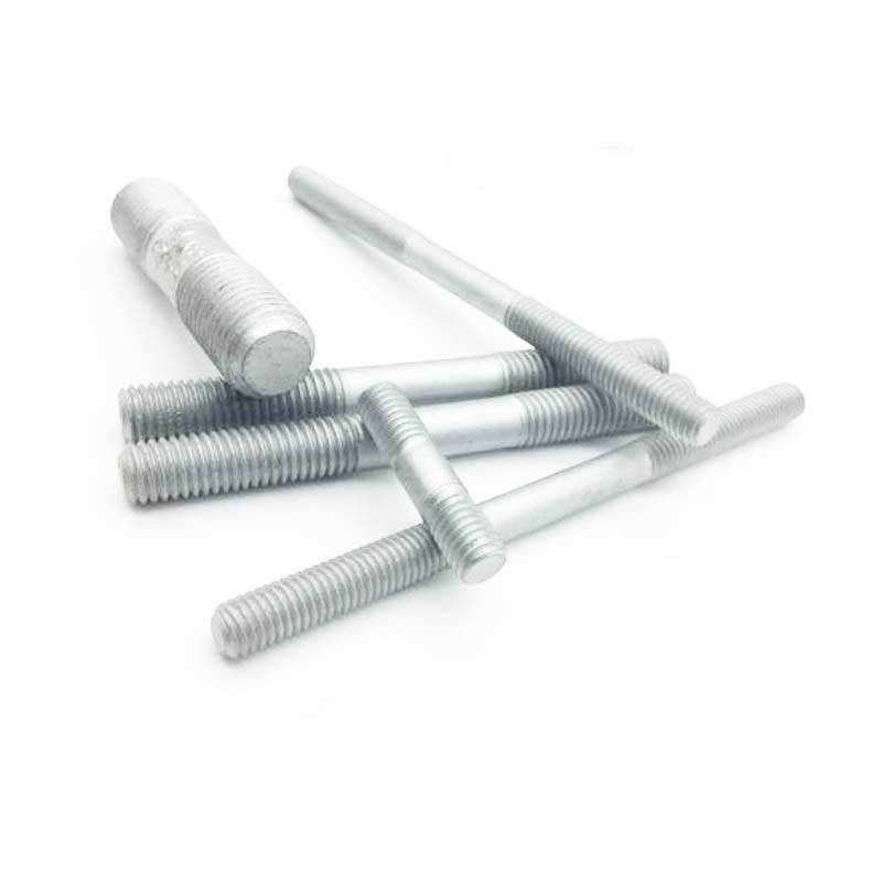 Galvanized double head bolt
