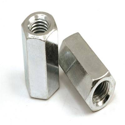 Satinless Steel Long Hex Nut