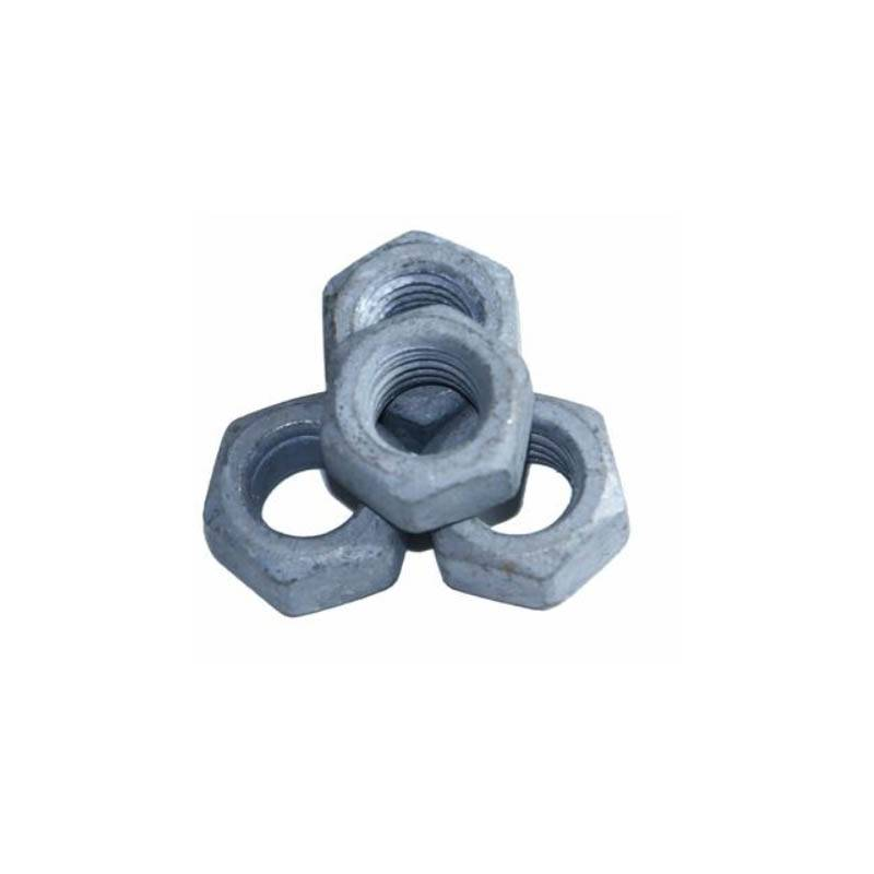 Hot dip galvanized hex  thin nut