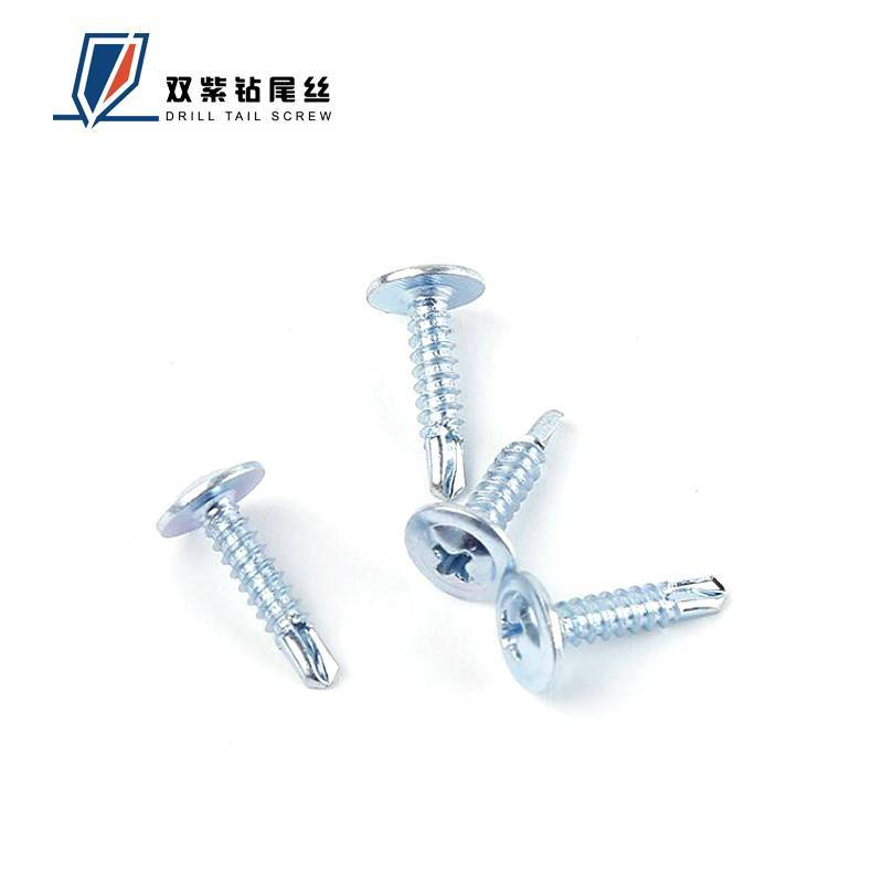 high quality wafer(truss) head self drilling screws