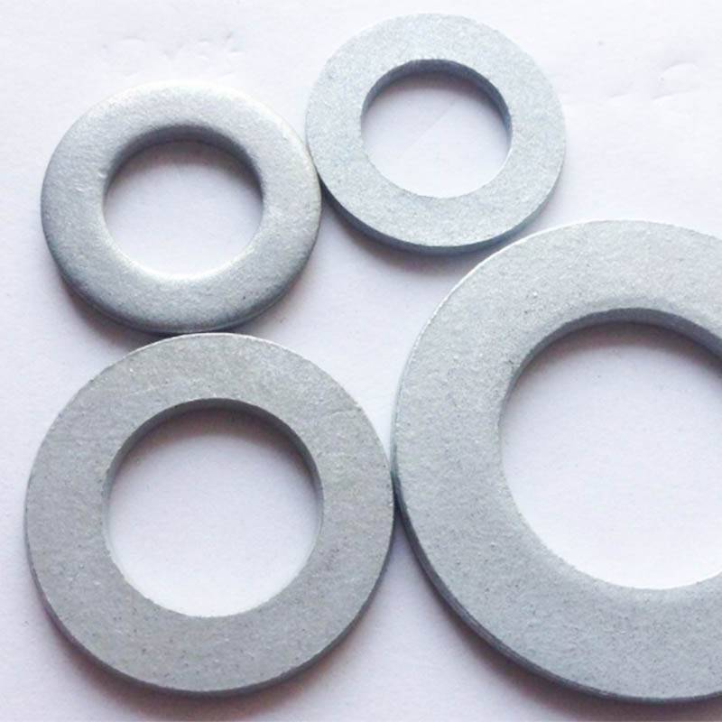 Hot dip galvanized flat washer