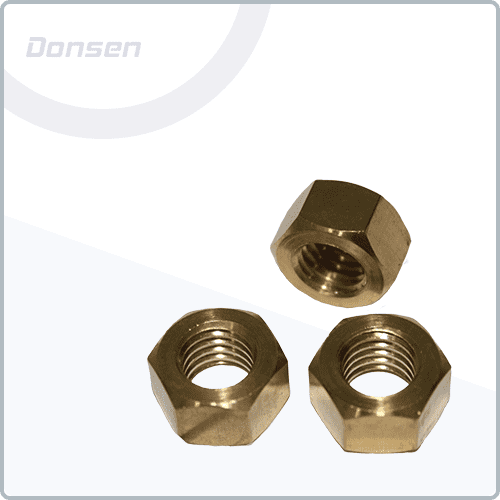 Brass Full Hexagon Nuts