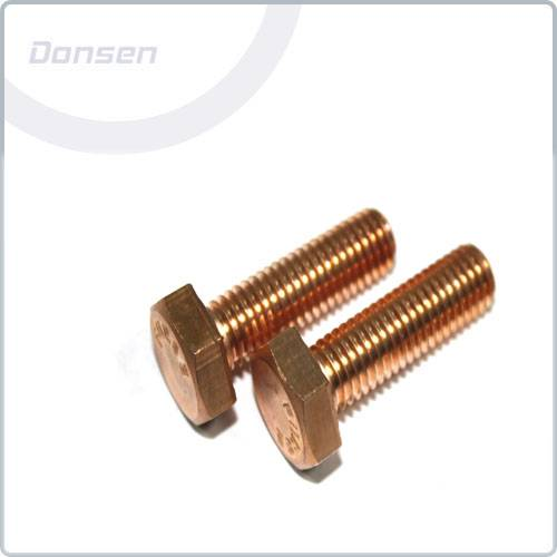 Copper Hexagon Head Setscrews