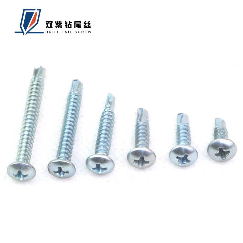 China manufacturer of pan head self drilling screws