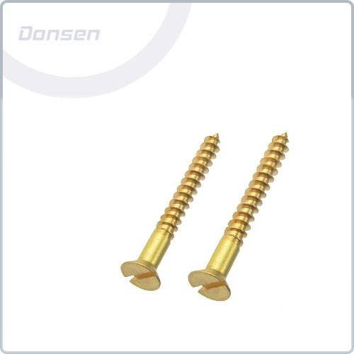 Brass Woodscrews