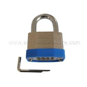 Factory For Laminated Padlock With Steel Key -