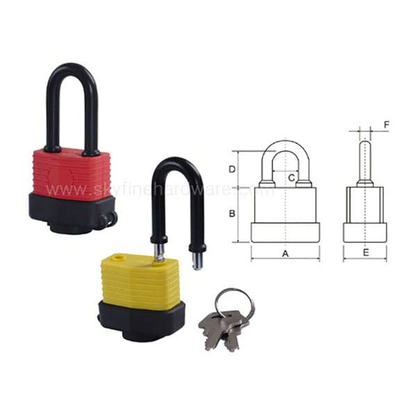 Ordinary Discount Key Padlock -