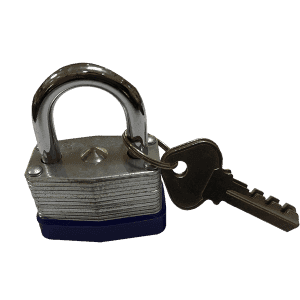 Ua laminekaʻia Padlock 40 MM