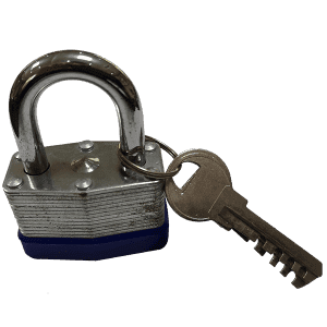 Ua laminekaʻia Padlock 45MM