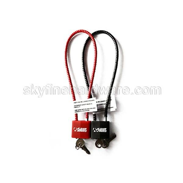 Free sample for Cable Gun Safety Padlock -
