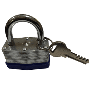 Ua laminekaʻia Padlock 50MM