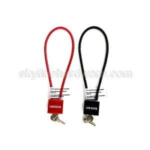 Popular Design for Wire Bicycle Lock -