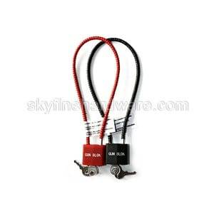 Factory supplied Red Disc Padlock -