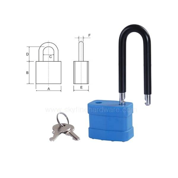 Factory Promotional Safety Laminated Security Iron Padlocks -