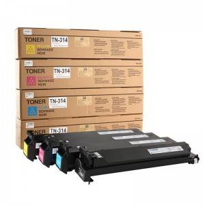 Compatible BK / C / Y / M Copier Toner TN314 Konica Minolta Copier BIZHUB C200 / C203 / C210 / C253 / C353 for