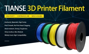 TPU Flexible 3D Printer Filament 4 Colors 1.75mm Wholesale