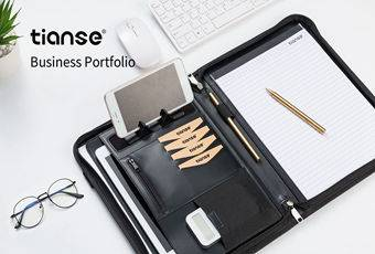 Top 6 Reasons to Choose TIANSE Premium Leather Business Portfolio