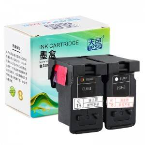 Compatible K / CMY Ink Cartridge PG840 / 841XL ji bo Canon Li ser kaxezê MG-2180 / MG-3180 / MG-4180