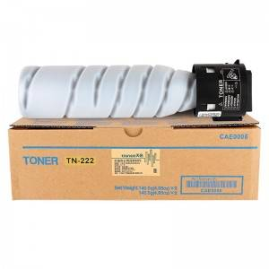 Compatible Black Copier Toner TN222 for Konica Minolta Copier BIZHUB226/ 306