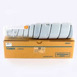 Ag luí Dubh Copier Toner TN414 do Konica Minolta Copier BIZHUB363 / 423