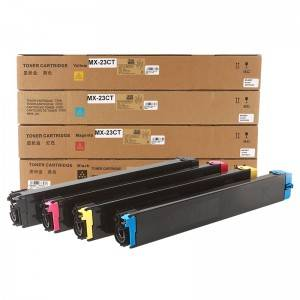 Socon BK / C / Y / M Copier Toner MX23 for Sharp Copier MA2018UC / 2318UC / 2338NC / 3128UC / 2618NC
