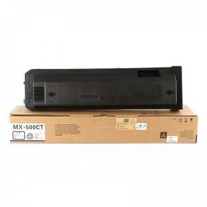 Socon Black Copier Toner MX500CT for Sharp Copier MXM363U / 453U / 503U / 363N / 453N / 503N / 500