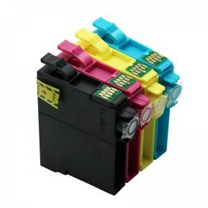 Compatible K/CMY Ink Cartridge 195 for Epson Printer EXP-RESSION XP–101/ 201/ 211/ 204/ 401/ 104/ 214/ WF-2532