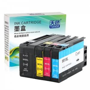 Compatible K / CMY Ink Cartridge 950XL bo HP Li ser kaxezê OFFICEJET / refaqetê / 8610/8620/8630/8625/8700