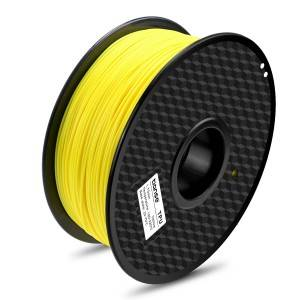 TPU 3D Printing Filament(Fluorescent Yellow)