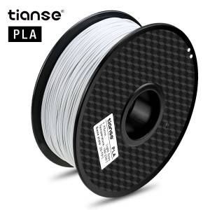 PLA 3D Printing Filament (Light Gray)