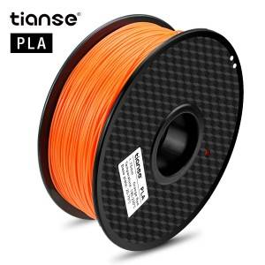 PLA 3D Printing Filament (Orange Rød)
